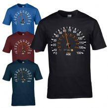 Speedometer 1960 60th Birthday T-Shirt - Funny Feels Age Year Present Mens Gift